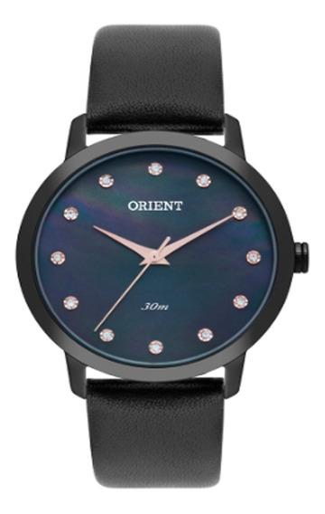 Relógio Feminino Orient Analógico Fpsc0003/p1px - Preto