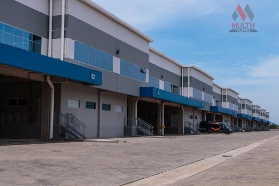 Galpão Comercial Para Locação, Jardim Santa Esmeralda, Hortolândia. - Ga0347