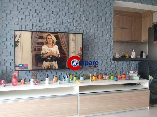 Excepcional Apartamento  Integrante Do Condomínio Residencial Life Park Guarulhos - Ap9750