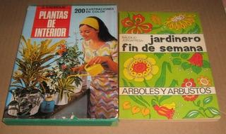 2 Libros, Plantas De Interior Y Arboles Y Arbustos