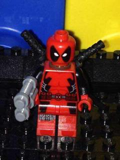 Lego Original Marvel Deadpool De Set 6866 Envío Gratis