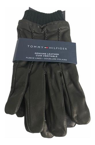 Tommy Hilfiger guantes negro para hombre