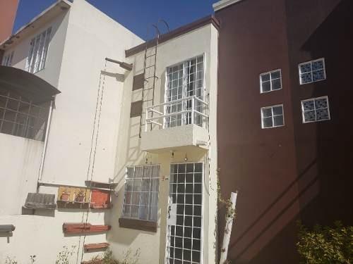 Casa En Huehuetoca, 2 Recamaras, Estudio, 1.5 Baños