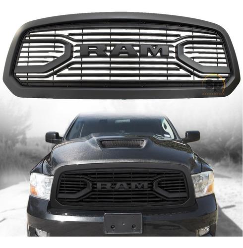 Imagen 1 de 10 de Parrilla Letra Led Dodge Ram 2013-2019 Lujo Nueva Edicion Es