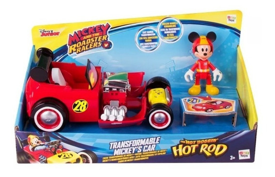 Mickey And The Roadster Racers Pete Transformable Car Autit