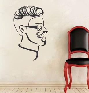 Adesivo Parede Decorativo Salão Cabeleireiro Barbearia