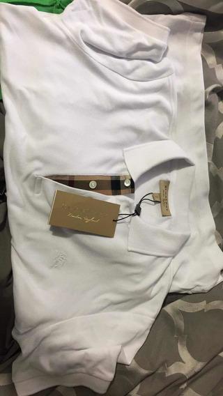 Playera Tipo Polo Burberry/ Gucci /louis Vuitton