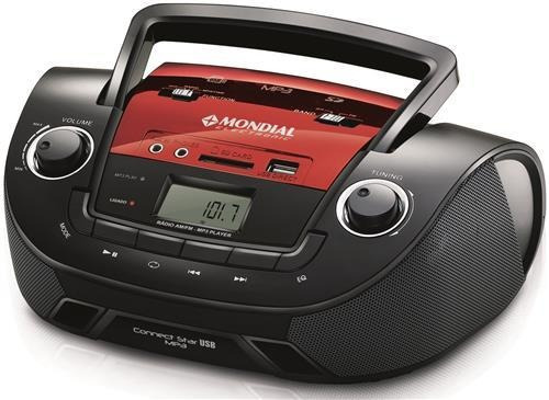 Rádio Portátil Mondial Connect Star Nbx-11
