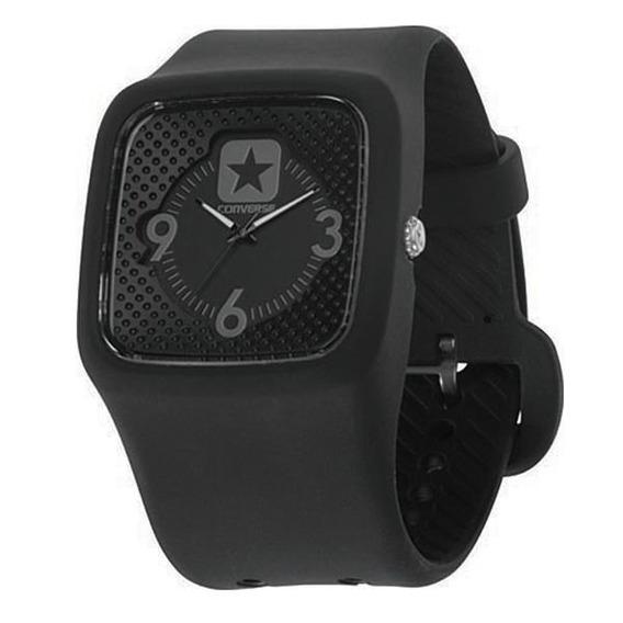 Relógio De Pulso Converse Clocked Ii - Preto