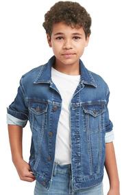 Chamarra Niño Mezclilla Denim Infantil Azul 239226 Gap