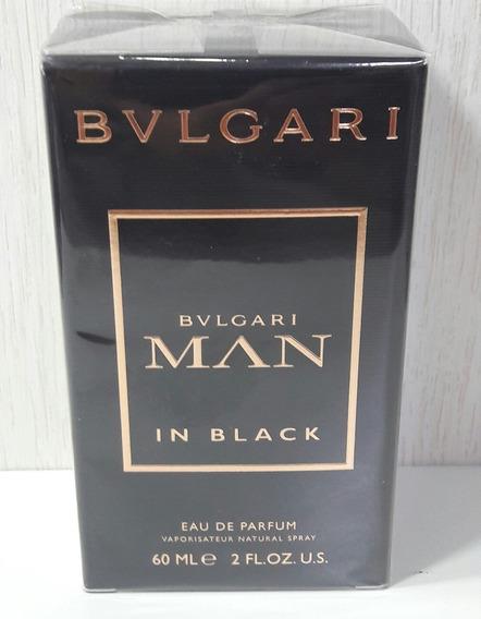 Bvlgari Man In Black 60 Ml Edp Masculino -original.
