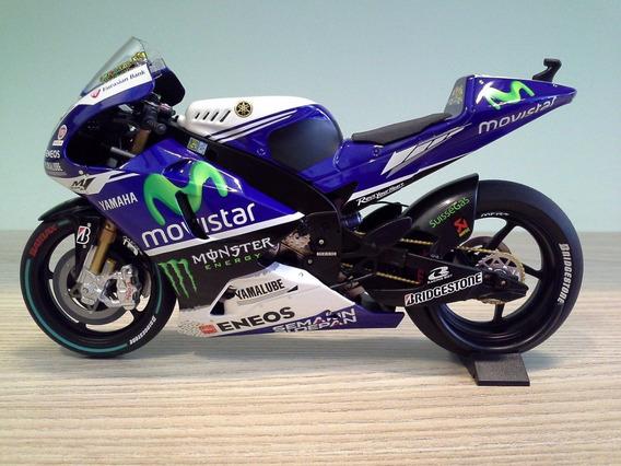 Miniatura Valentino Rossi Yamaha M1 2014 Philip Island 1:12