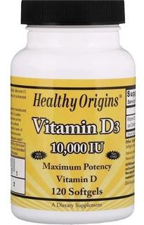 Vitamina D3 10,000 Ui - 120 Softgels - Healthy Origins