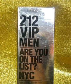Carolina Herrera 212 Vip Men Original Hombre En Perfumes Mercado