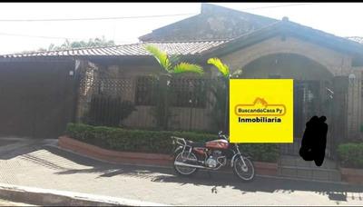 Vendo Casa Con Salon Comercial En Lambare. F3221.