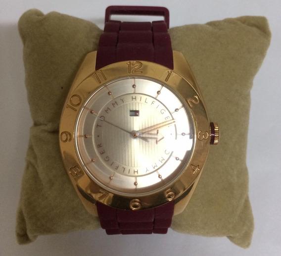 Relógio Feminino Tommy Hilfiger Impecável Quase Sem Uso