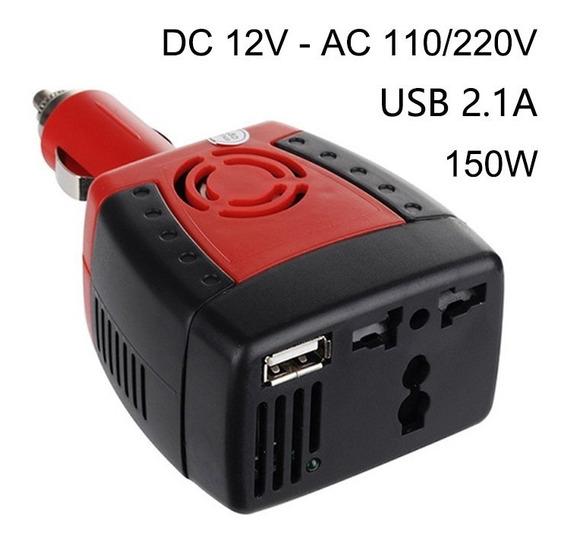 Transformador Veicular Conversor De Energia 12v 110v De 150w
