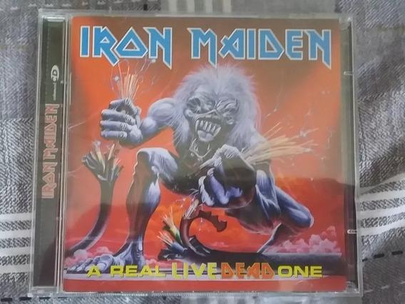 Iron Maiden A Real Live Dead One Emi 1998 Leia Descrição