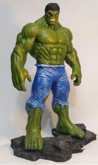 Hulk Escultura Em Resina 40cm
