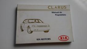 Manual Do Proprietário Kia Clarus 1996 Original
