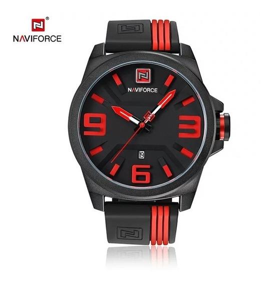 Promoção Relógio Naviforce 9098 Pulso Masculino Esportivo