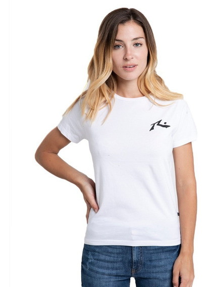 Remera Mujer Competition Blanca