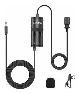 Microfono Boya M1-pro Corbatero C/ Entrada Auricular