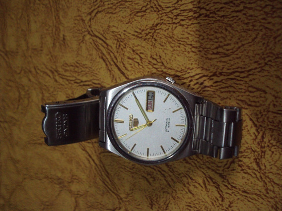 Relógio Seiko Branco 21 Rubis