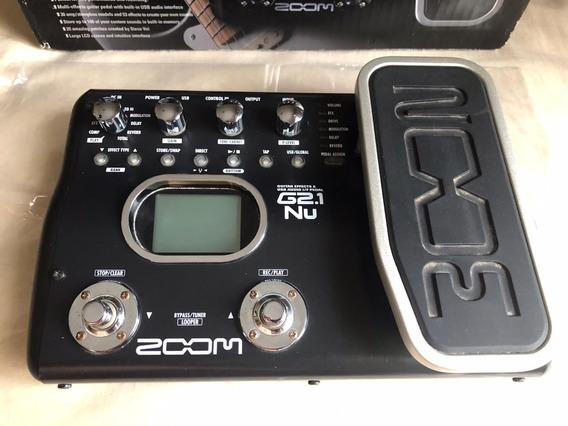 Pedalera Zoom G2.1 Nu