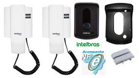 Porteiro Ipr 8010 + Extensão Intelbras + Protetor + Sensor