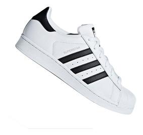Tênis adidas Superstar Feminino Branco Preto Cm8414 Original