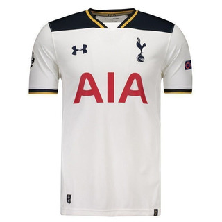 Camisa Under Armour Tottenham Home 2017 Ucl