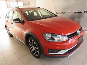 Volkswagen Golf Crossgolf Aut Naranja Metalico 2017