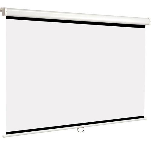 Pantalla Proyector Manual Vidium Cbm109ws Apto Cine Hd 16:10