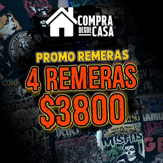 Promo Remeras Nro. 3 / 4 Remeras X $3800 + Envio Gratis