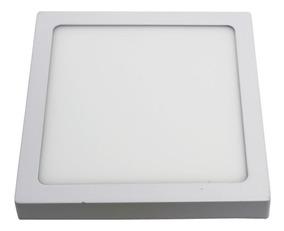 Luminária Plafon Sobrepor Led 48w Quadrado Led Branco Frio