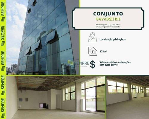 Conjunto Para Alugar, 178 M² E 04 Vagas - Savassi - Belo Horizonte/mg - Cj0015
