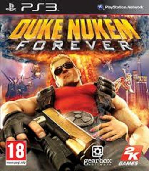 Duke Nukem Forever - Ps3 - Psn - Original Em Midia Digital