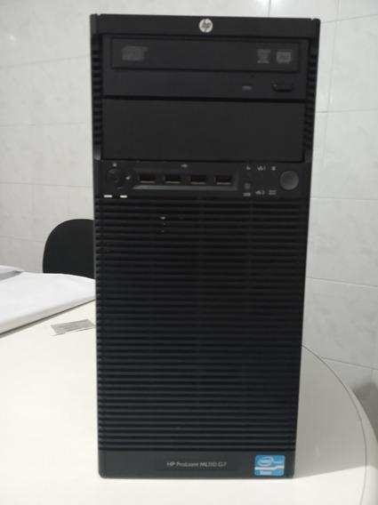 Servidor Hp Proliant Ml110 G7-xeon E3 1220-4gb Ram-completo.