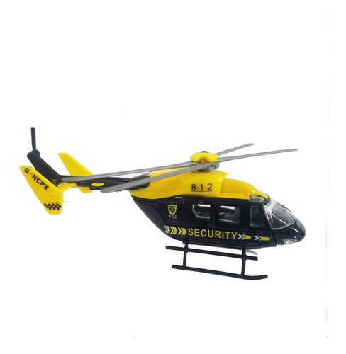 Miniatura Colecionável Helicóptero Dm Collection Dmc3704