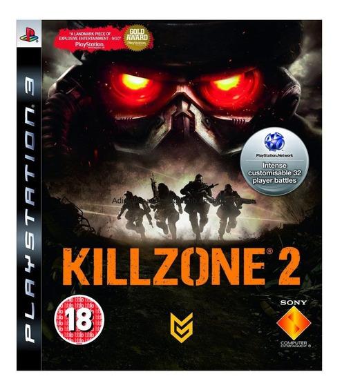 Game Play3 - Killzone 2 - Semi-novo Jogo Ps3