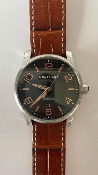 Relógio Montblanc Timewalker 101551 Automático Preto