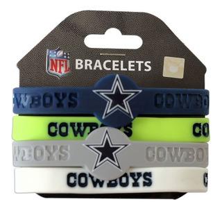 Nfl Dallas Cowboys Vaqueros 4 Pulsera