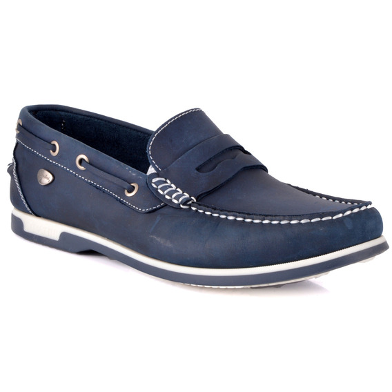 Mocasin Cavatini - 1853-76-6730-azul