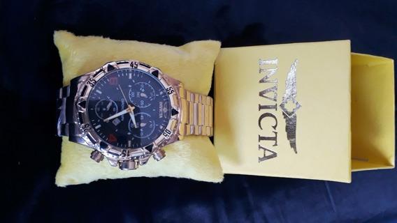 Relógio Invicta Masculino Pro Diver Dourado E Preto