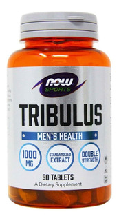 Tribulus Terrestris 1000mg 90caps Now Foods - Importado Eua