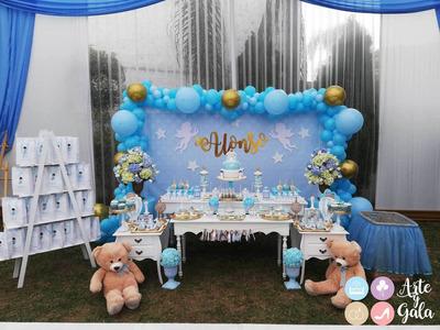 Decoraciones Para Fiestas Infantiles, Baby Showers, Bautizos