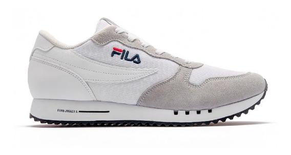 Zapatillas Fila Euro Jogger Sport Ss Urbanas Blancas
