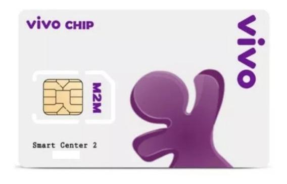 Chip M2m Vivo 30mb Telemetria Para Rastreadores - Pl Mensal