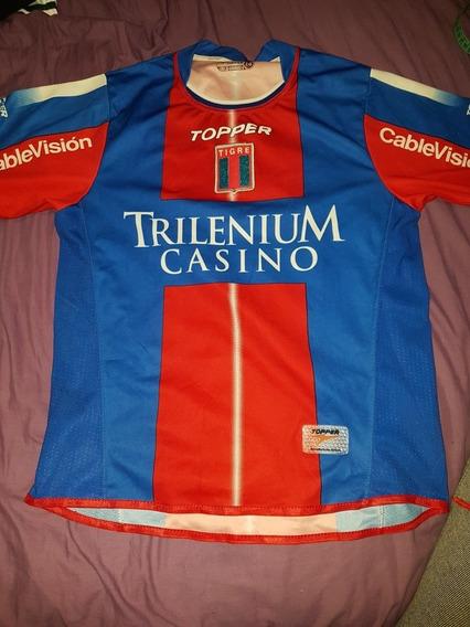 Camiseta De Fútbol Topper Tigre 2005 Talle 14 Bicentenario